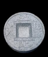 Chisoku bachi en granit gris dia 36