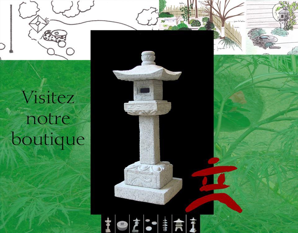 Lanterne japonaise laquelle choisir jardin japonais - Jardin japonais miniature exterieur ...