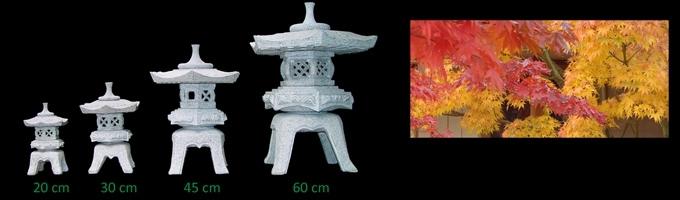Lanterne japonaise jardin japonais for Jardin japonais lanterne