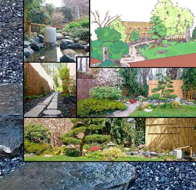 Conception et r alisation paysagiste jardin japonais for Plan jardin japonais