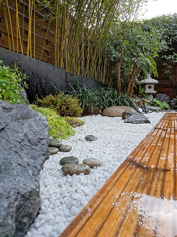 Petit jardin japonais