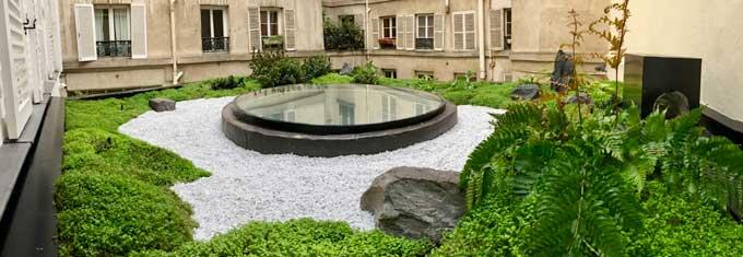 Paris est une ville qui aimes les jardins japonais depuis le 19ème siécle