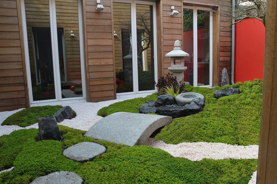 Un Paysagiste R Alise Votre Jardin Japonais Jardin Japonais
