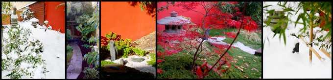 réalisation de jardin japonais quatre saison