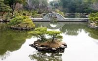 庭園の写真 縮景園