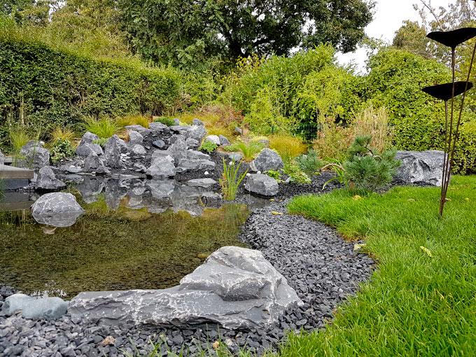 jardin japonais : Cascade japonaise