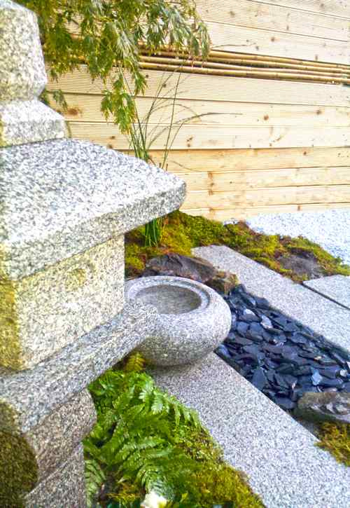 Jardin japonais en kit